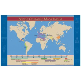 Ancient Civilizations Map and Timeline