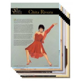 Great Contemporary Latinos Poster Set