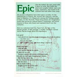 Poetry Forms - Epic