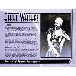 Stars of the Harlem Renaissance - Ethel Waters