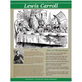 Lewis Carroll - Classic Children's Authors poster