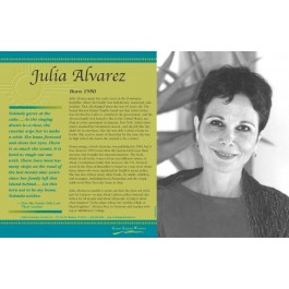 Latino Writers - Julia Alvarez