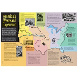 America's Westward Expansion Map