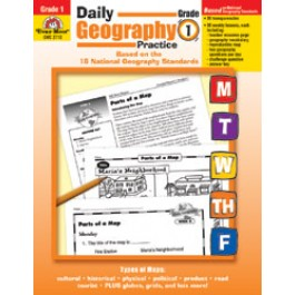 Daily Geography Practice- Grade 1