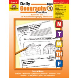 Daily Geography Practice-Grade 4