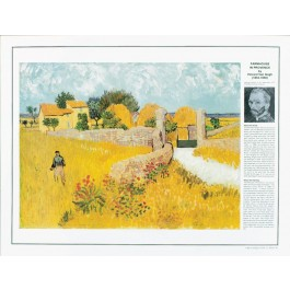 Vincent Van Gogh - Farmhouse in Provence poster