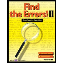 Find the Errors! II --Proofreading Activities