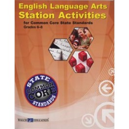 English Language Arts Station Activities for Common Core State Standards