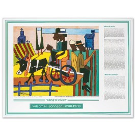 African American Artists - William H. Johnson - Going to Church