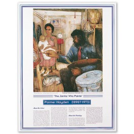 African American Artists - Palmer Hayden - The Janitor Who Paints