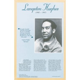 American Authors of the 20th Century - Langston Hughes Poster