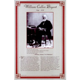 American Authors of the 19th Century - William Cullen Bryant