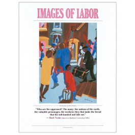 Images of Labor - Mark Twain poster