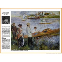 The Impressionists - Renoir - Oarsmen at Chatou