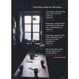 First They Came for the Jews...Poster