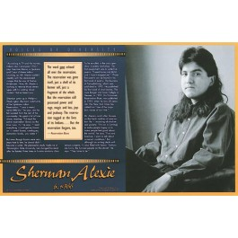 Sherman Alexie - Voices of Diversity poster