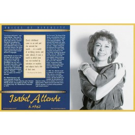 Isabel Allende - Voices of Diversity poster