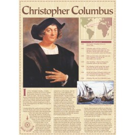 Christopher Columbus -Great Explorers poster