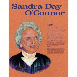 Sandra Day O'Connor - Great American Women - poster