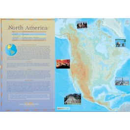 The Continents - North America poster