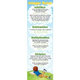Integer Rules - Colossal poster
