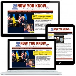 Now You Know - Online News Magazine for Seniors - Site License