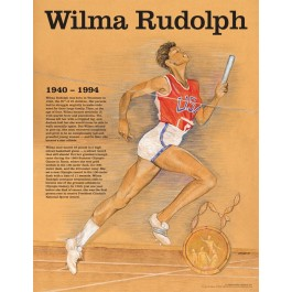 Wilma Rudolph - Great American Women poster