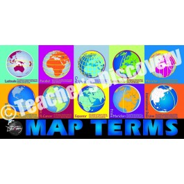 Map Terms - chart