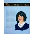 Great Contemporary Latinos - Lucille Roybal-Allard poster