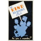 Be Kind to Books Club - Historic Reading poster