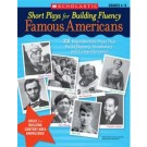 Short Plays for Building Fluency : Famous Americans