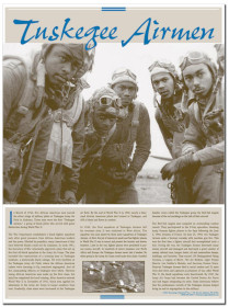 Tuskegee Airmen - poster